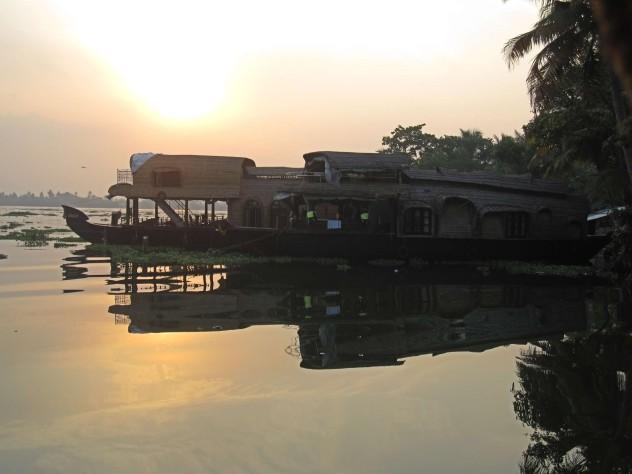 Indien Hauboot Kerala