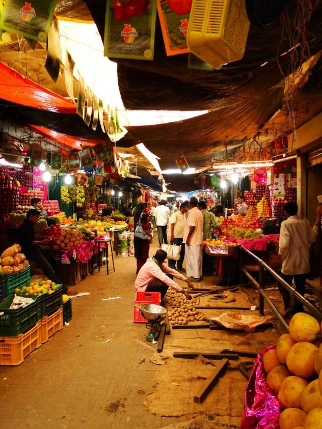 Indien Mysore Markt