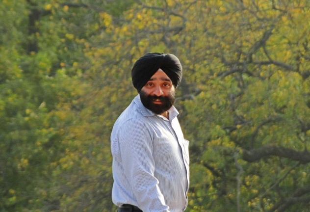 Indien Sikh Mann