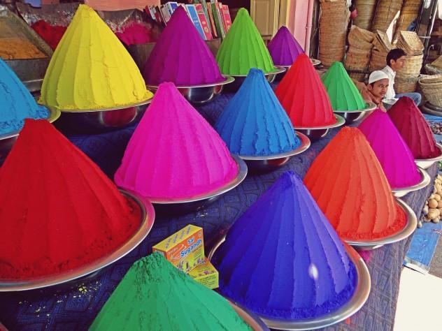 Indien Mysore Markt Hili Colours