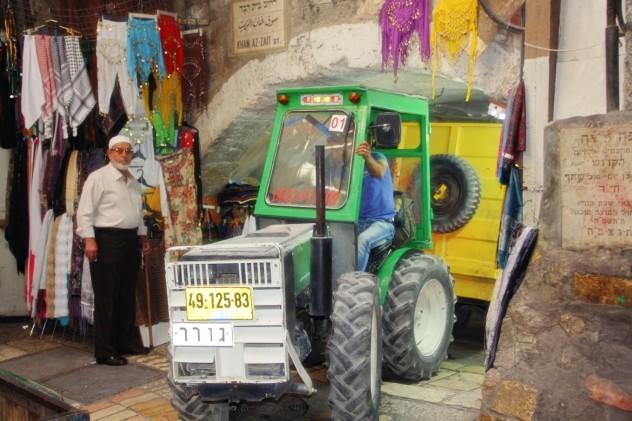 Israel Jerusalem Traktor