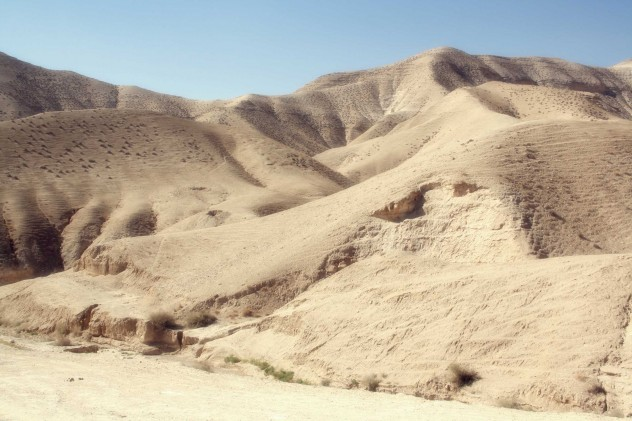 Wüste Tel Aviv Jerusalem Israel Landschaft