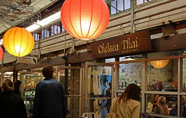 New York Chelsea Market Chelsea Thia Eating