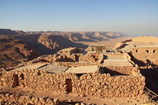 Festung Masada Israel Reise Seibahn
