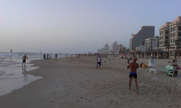 Tel aviv Beach Meer Israel