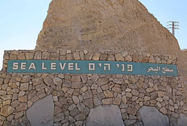 sealevel Totes Meer Israel