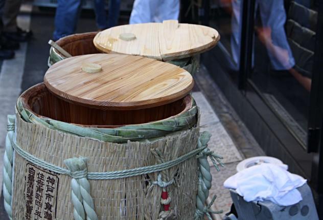 Tokio Fischmarkt Sake