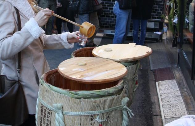 Tokio Japan Sake Fischmarkt