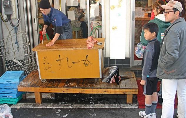 Tokio Japan Tsukiji Fischmarkt