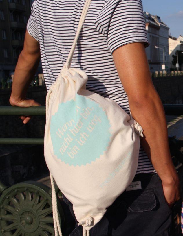 Roadtrippin Bag Wenn ich nicht hier bin, bin ich weg