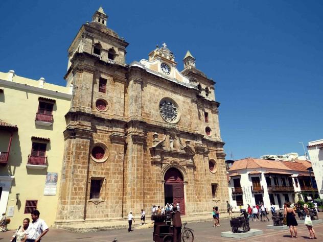 Roadtrippin Kolumbien Cartagena Altstadt Kirche
