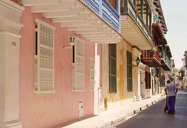 Roadtrippin Kolumbien Cartagena Altstadt Kolonialhäuser
