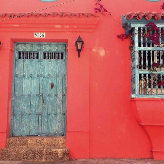 Roadtrippin Kolumbien Cartagena bunte Kolonialhäuser