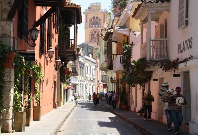 Roadtrippin Kolumbien Cartagena Altstadt Streetlife