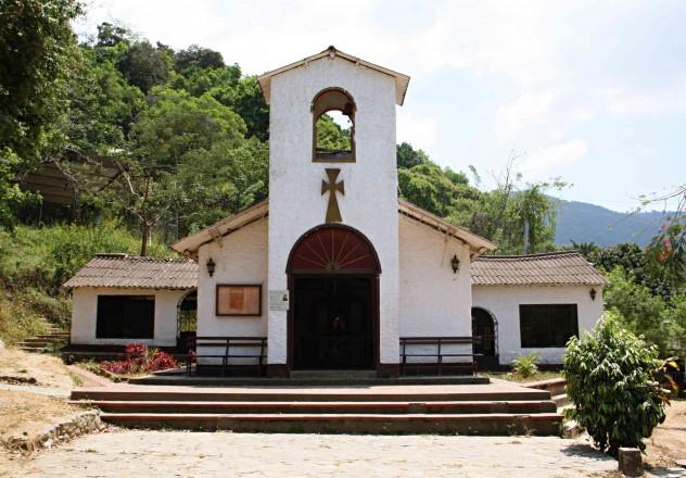 Roadtrippin Kolumbien Minca Kirche