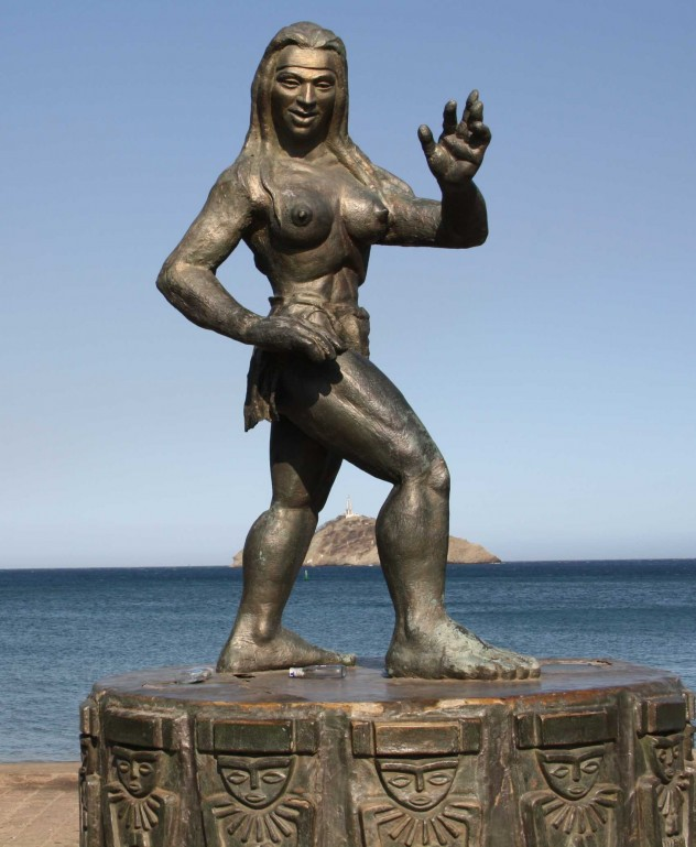 Roadtrippin Kolumbien SantaMarta Statue