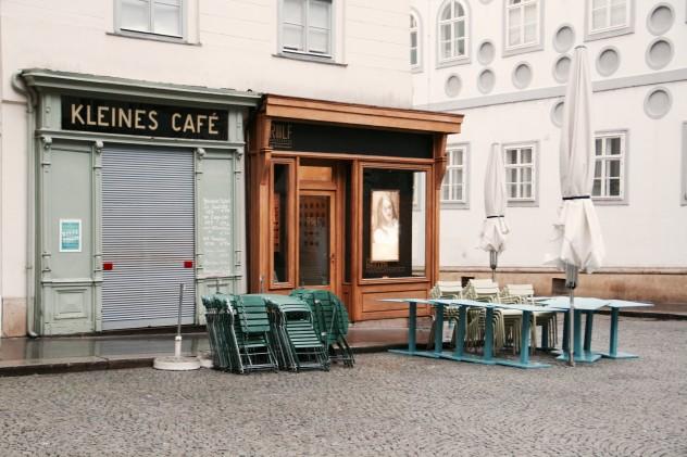Roadtrippin Wien Kleines Cafe Franziskaner Platz