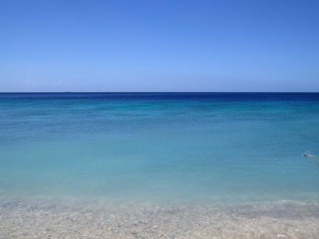 blue curacao strand karibik
