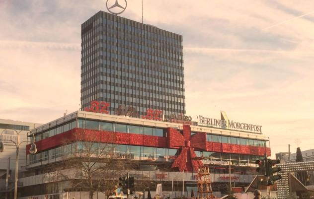 Berlin Kudamm Kurfüstendamm Weihnachtsstimmung