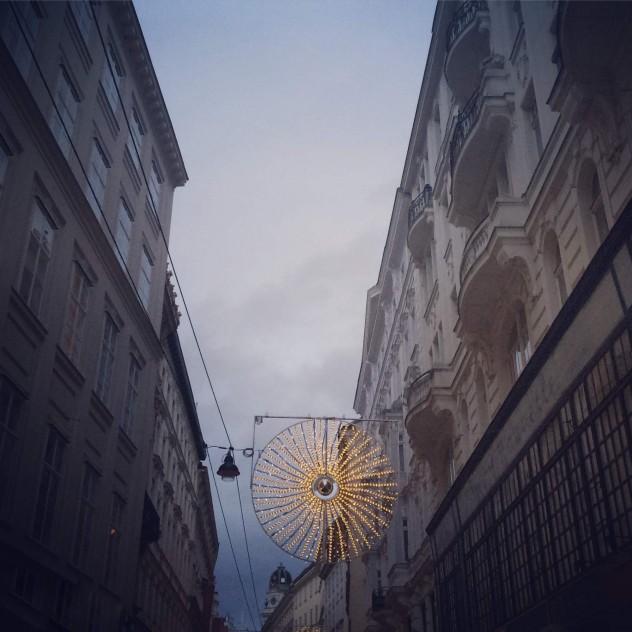 Wiener Innenstadt Wien Weihnachtsstimmung