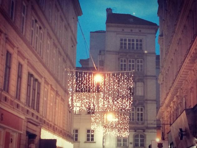 Wiener Weihnachtsbeleuchtung Innenstadt Wien