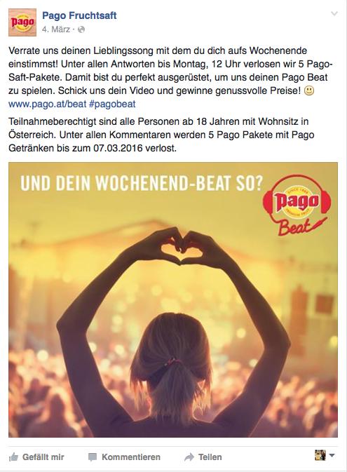 Pago_Beat_Wochenende