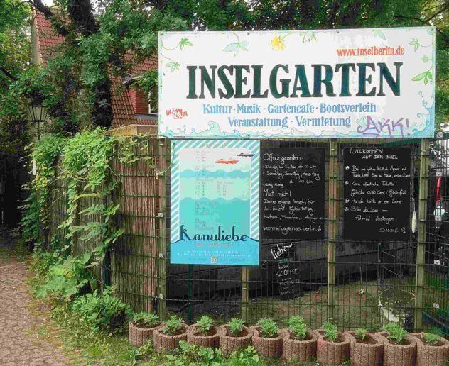 Berlin Inselgarten Treptow Insel der Jugend