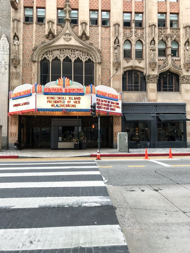 united artist theatre ace hotel und bar downtown L.A.