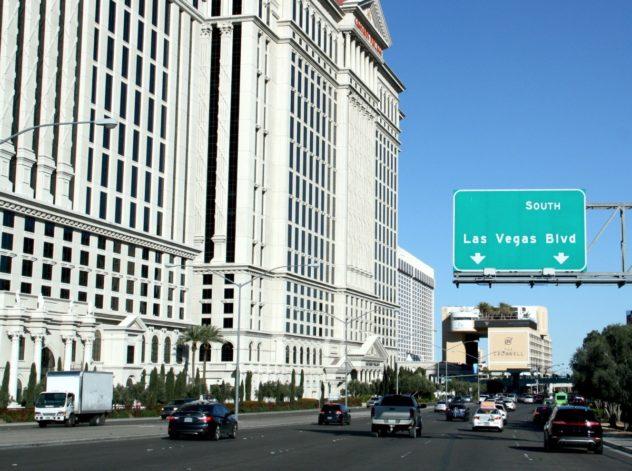 las vegas boulevard strip bei tag