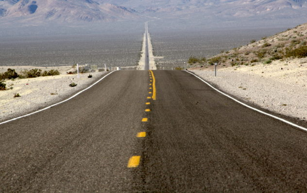 road to nowhere death valley california