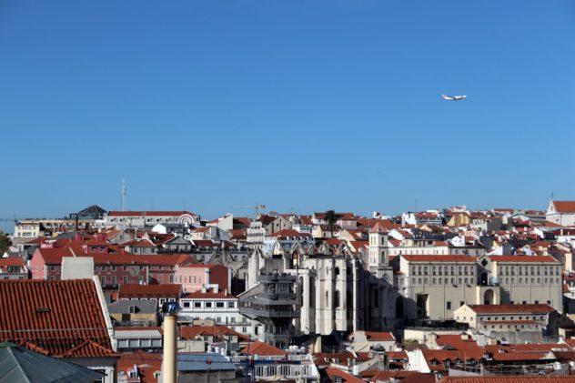 Castelo de Sap Jorge Lissabon Aussicht