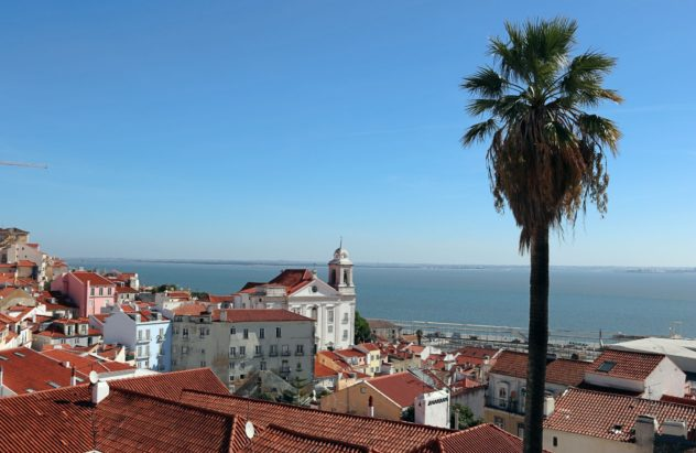 Porto do Sol Lissabon Ausblick