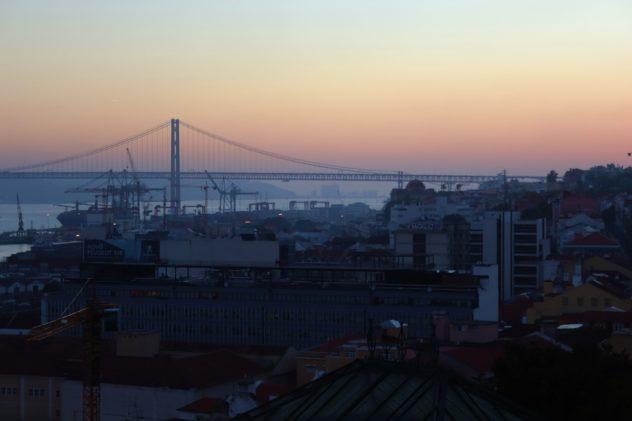 Aussicht Lissabon