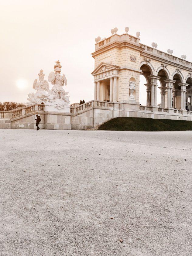 Gloriette Kaiser Wien Monarchie Barockgebäude